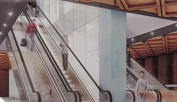 Wizualizacja planowanej stacji II linii metra