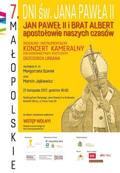 Koncert kameralny w Sanktuarium św. Jana Pawła II