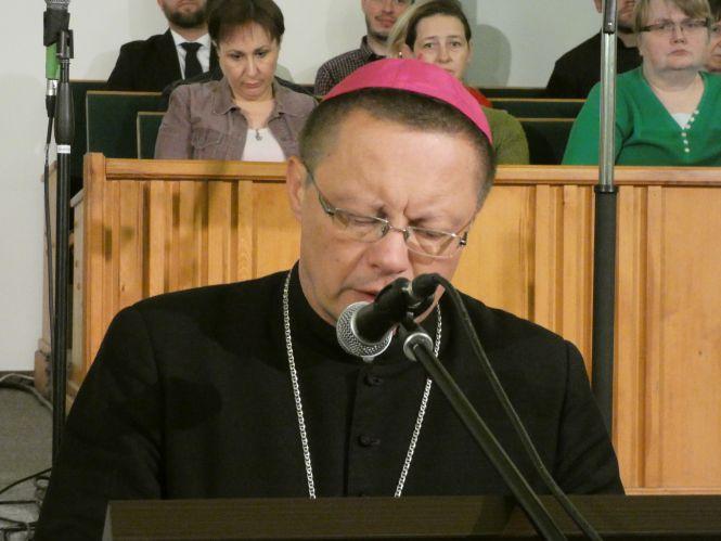 Tydzień Modlitw o Jedność Chrześcijan: Kościół Chrześcijan Baptystów. Abp Grzegorz Ryś.