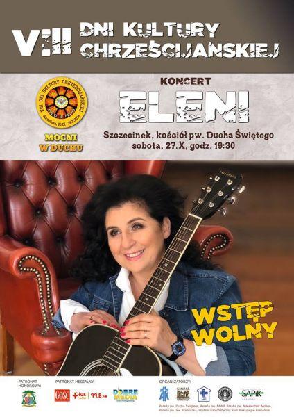 Koncert Eleni 27 października w Szczecinku