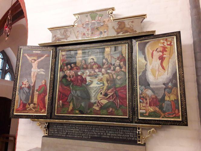 Nowy w koszalińskiej katedrze tryptyk