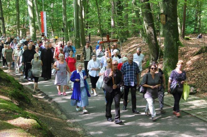 Wśród pielgrzymów była również grupa gości z innej diecezji.